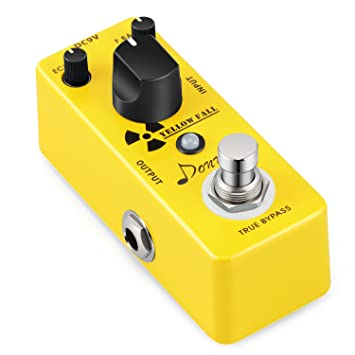 Donner pedal de efecto, fuente de alimentación de distorsión yellow fall para guitarra eléctrica.: Amazon.es: Instrumentos musicales
