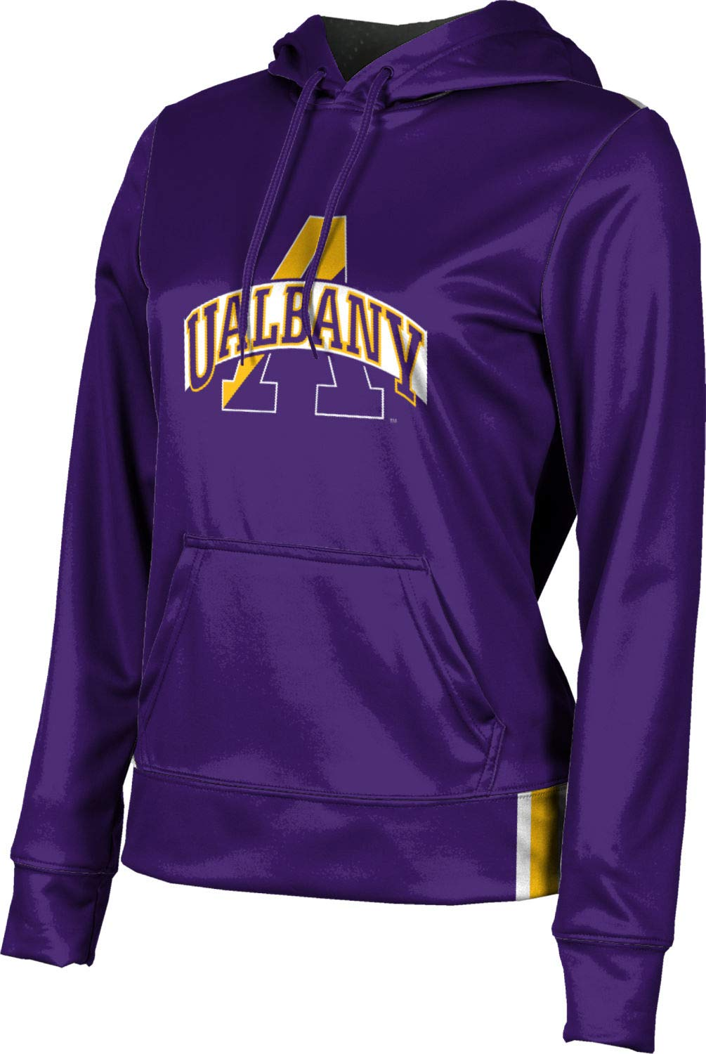 ProSphere University at Albany Women's Pullover Hoodie - Solid FF4A (Large)