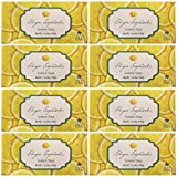 Lot of 8 Shugar Soapworks Large Bars 7 oz Lemon Vegan, No Dyes, No Parabens