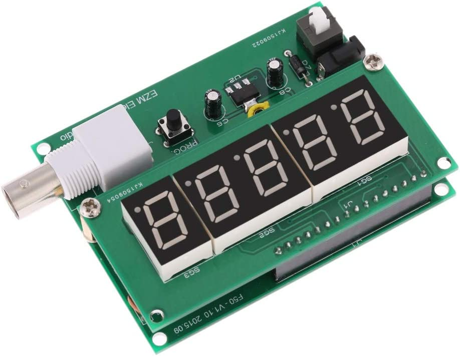 MING-BIN 1Hz-50MHz cymometer Frequency Meter Counter High Sensitivity Frequency Counter Measurement Tester Module 7V-9V 50mA