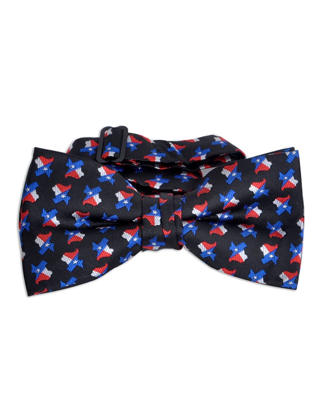 Texas Flag /& Map Banded Bow Tie