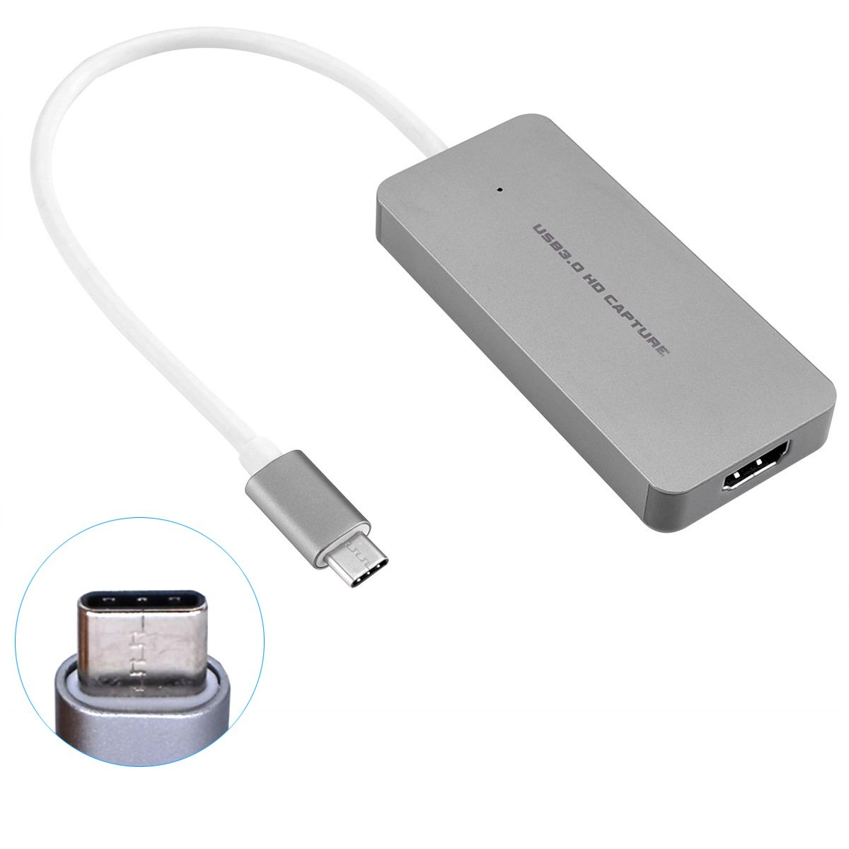 USB3.0 Type-C HD Game Video Capture Card HDMI 1080P 60FPS Recorder Device