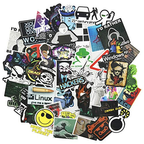 Cool Hacker Computer Stickers for Teen, Developer Laptop, used for sale  Delivered anywhere in USA
