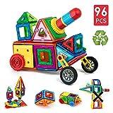 Image of Children Hub 96pcs Magnetic Building Blocks Set: Educational Toys For Kids