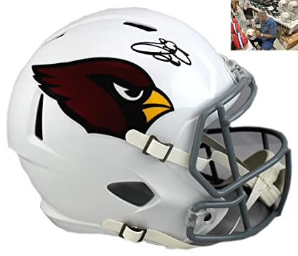 0a00ee98 Emmitt Smith Autographed/Signed Arizona Cardinals Riddell Full Size ...