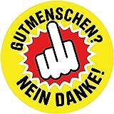 Aufkleber Sticker Islamisierung Nein Danke Sticker
