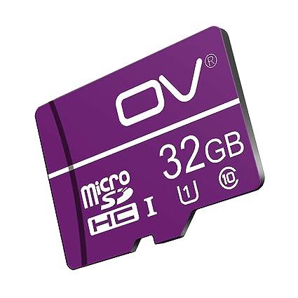 Tarjeta de Memoria microSDHC de 32 GB, Tarjeta de cámaras de ...