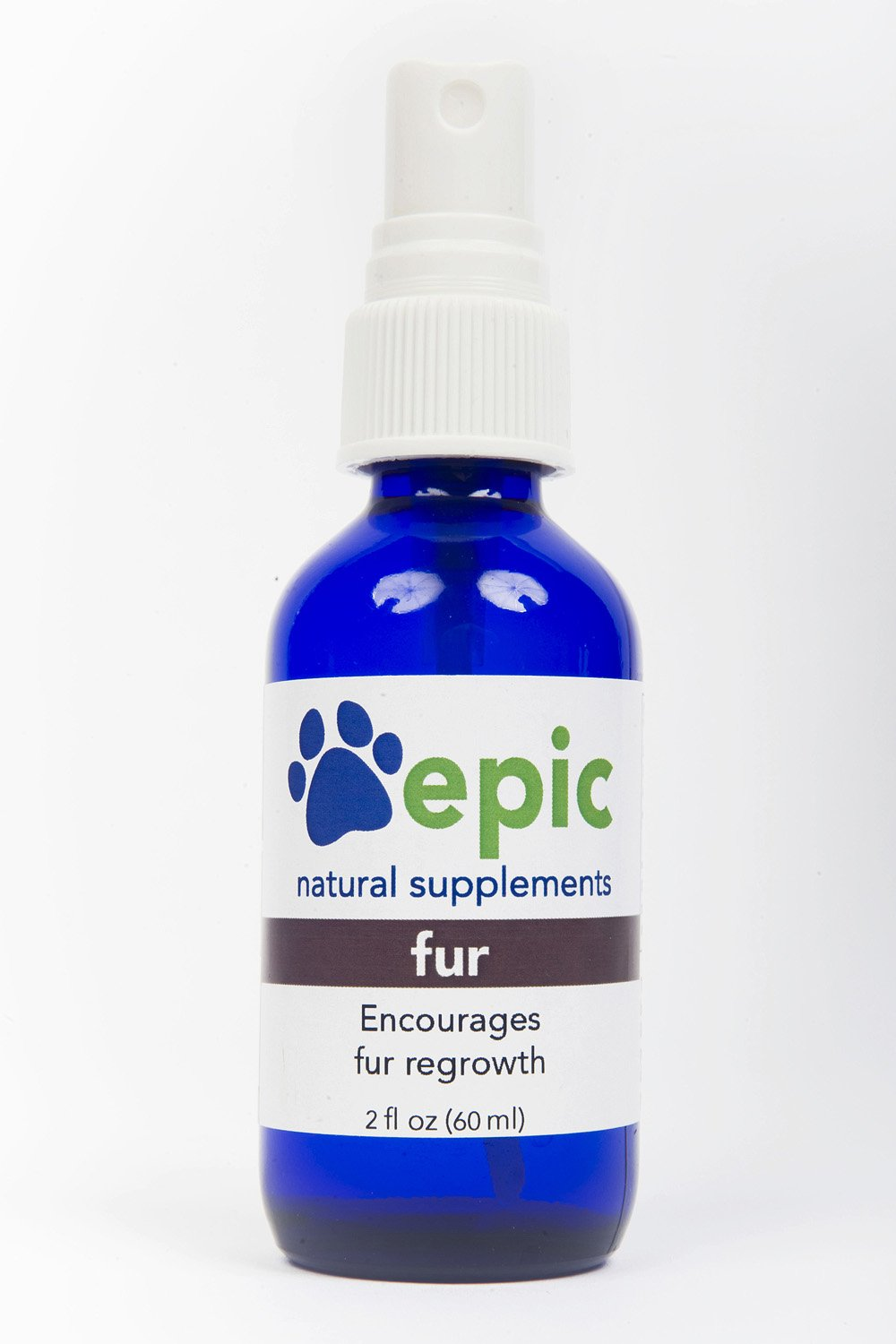 Fur - Encourages Fur Regrowth Naturally (Spray, 2 Ounce) by Epic Pet Health