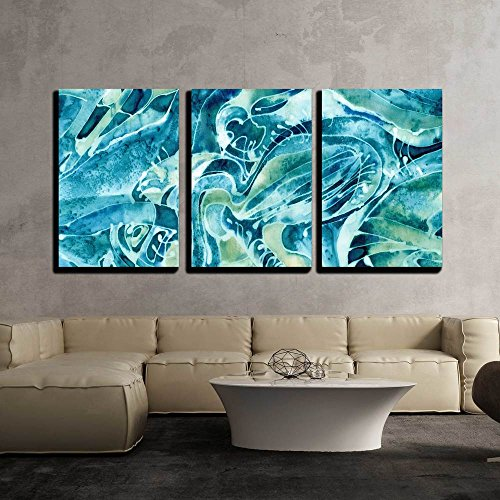 wall26 - 3 Piece Canvas Wall Art - Abstract Background on the