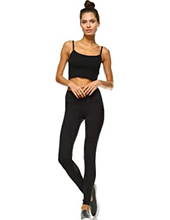 Amazon.com: Mono B Yoga Leggings Squat Proof Performance ...