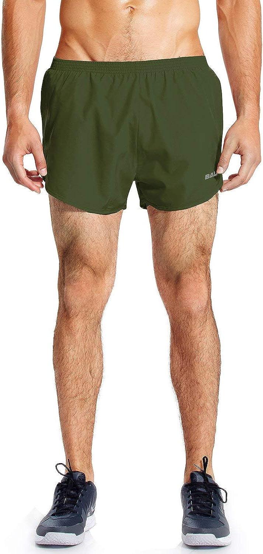 Baleaf Men's 3'' Running Shorts Quick Dry Gym Athletic Shorts