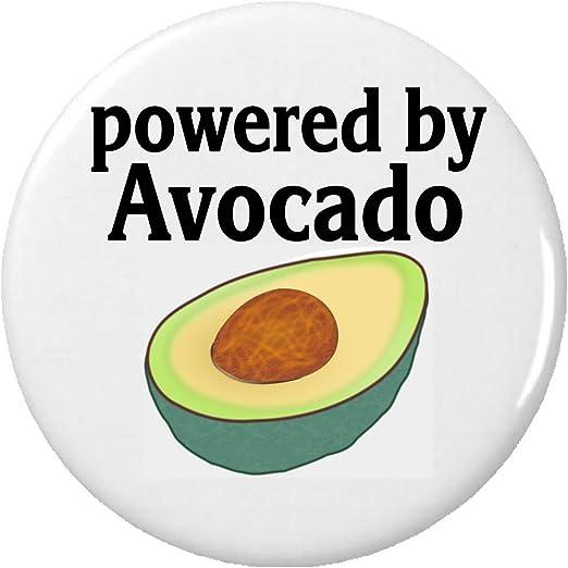 Powered By aguacate imán Vegan vegetariano: Amazon.es: Hogar