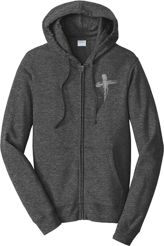 Jesus Zip Up Hoodie Hand of God Hooded Sweatshirt