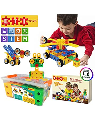 Amazon Building Toys Games Sets Stacking