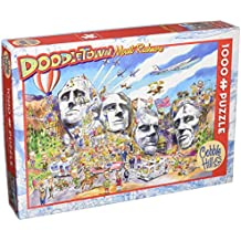 COBBLE HILL Doodle Town: Mount Rushmore Jigsaw Puzzle (1000 Piece)