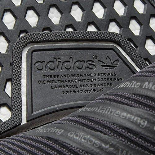 Calcetín City Adidas Hombres Nmd Negro / Blanco S80529 (tamaño: 10.5)
