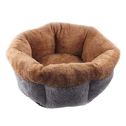 Inciple Suave y cálido Nido de algodón para Mascotas - Perro pequeño Cama para la Cama