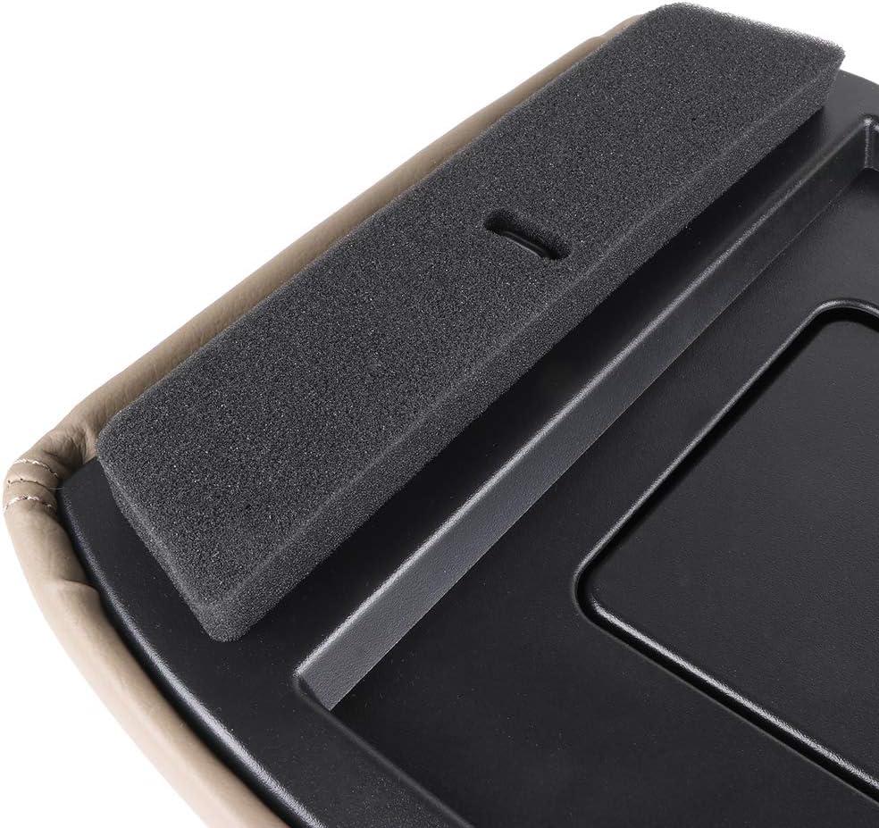 cciyu Center Console Lid Repair Kit Dark Grey Armrest Latch Replacement fit for 2001-2007 GMC Sierra Chevrolet Silverado
