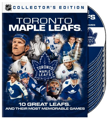 NHL Toronto Maple Leafs: 10 Great Leafs and their most Memorable Games by Team Marketing