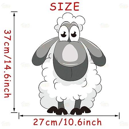 YRHT Etiqueta de la Pared Encantador Lindo Animal de Granja Cerdo ...