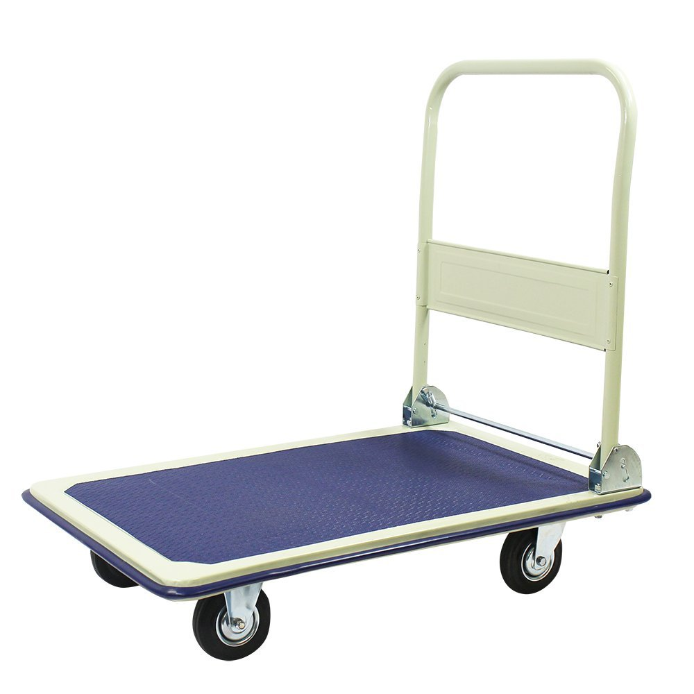 Heavy Duty Folding Platform Hand Sack Trolley 360Kg