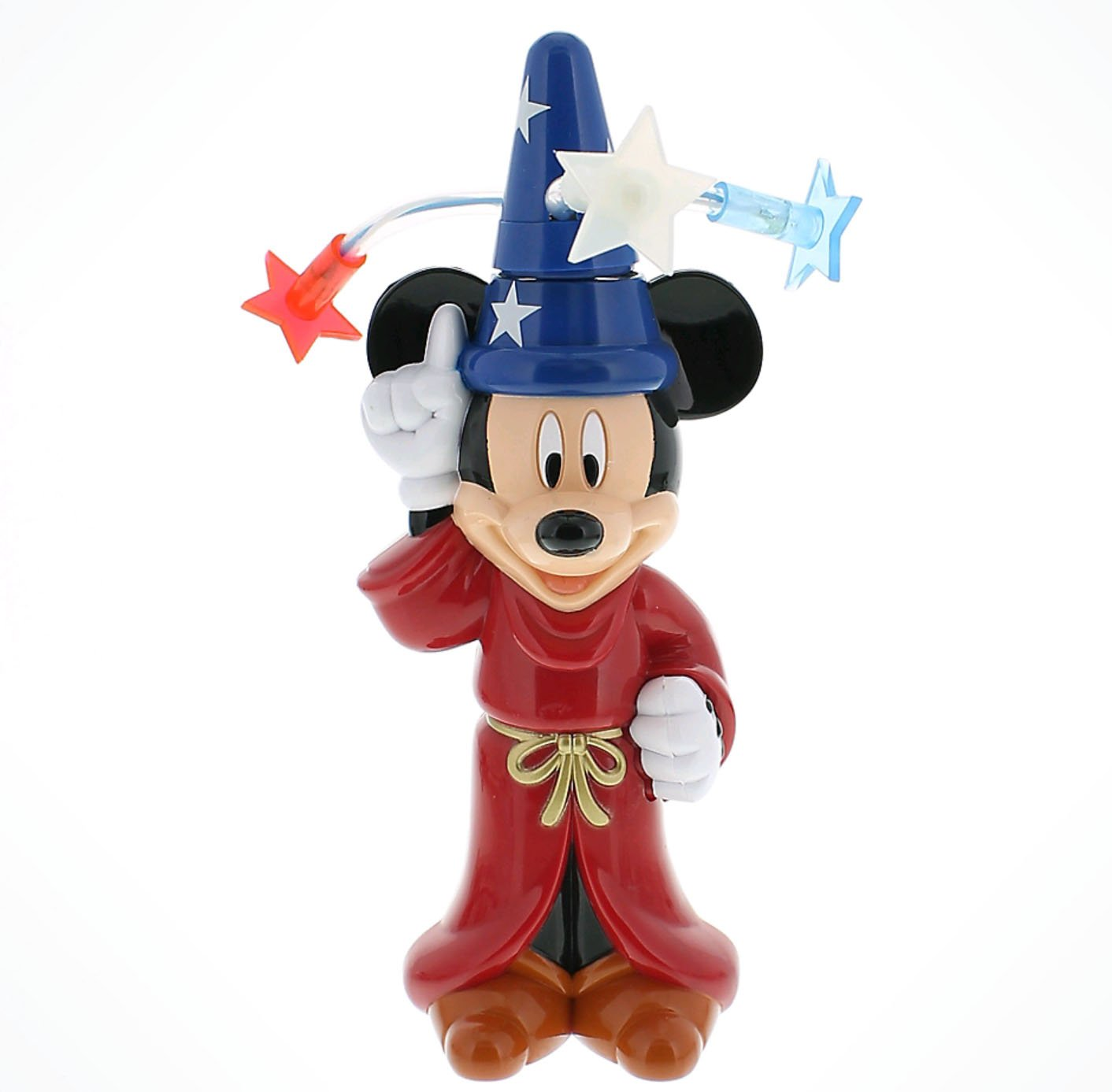 Disney Parks Exclusive Sorcerer Mickey Mouse Light Up Spinner Chaser Toy