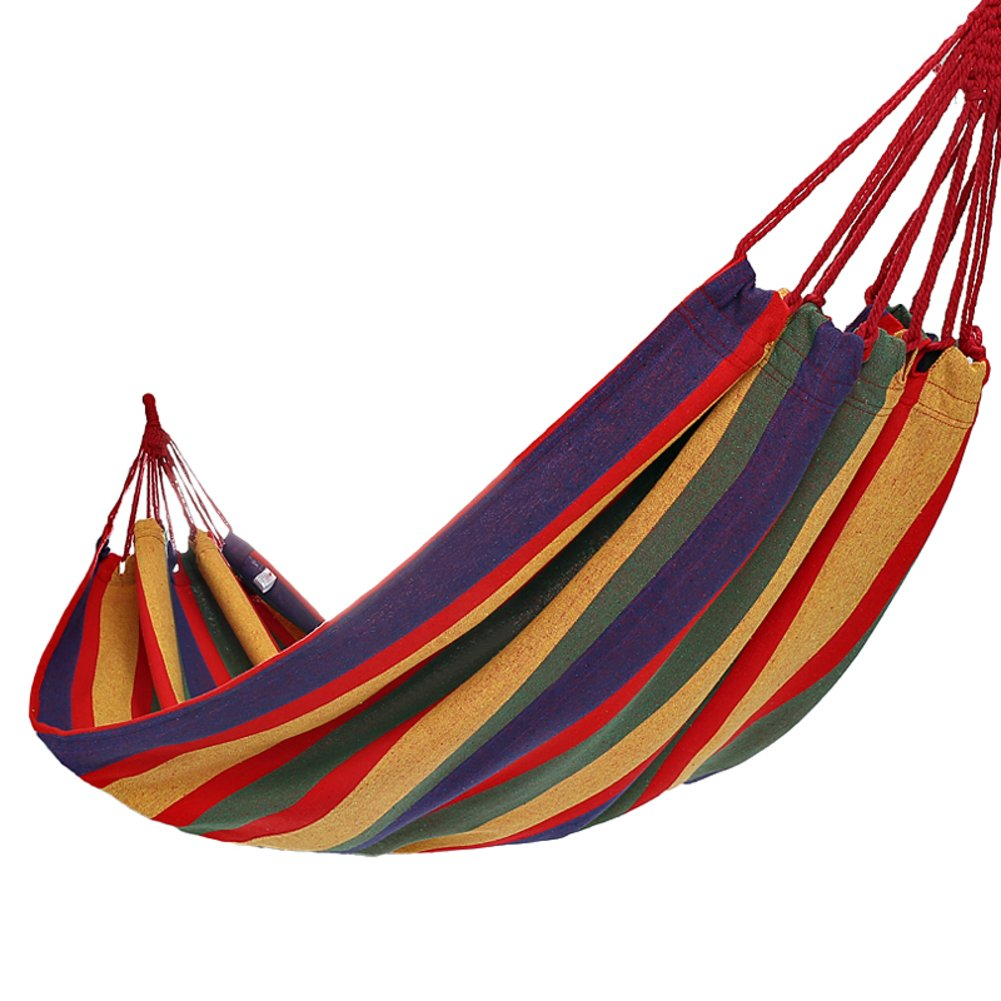 Outdoor-camping Hängematte Beste Portable 2 Person Falten Hängematte Trekking Hängematte