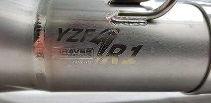 Amazon Com Graves Motorsports R1 Full Titanium Exhaust System With
