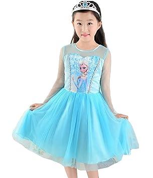 Mntllbl - Carnival Frozen Elsa - (120=4-5 años, con la