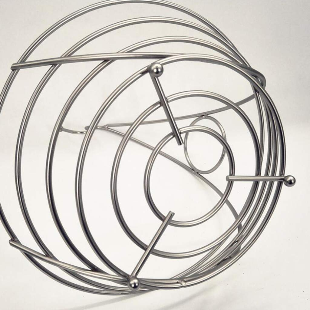 Prettyia Wire Fruit Tree Bowl with Banana Hanger Stainless Steel