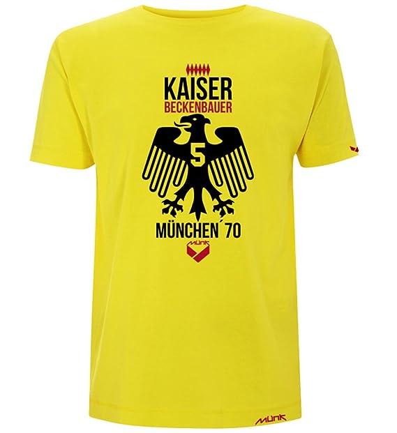 Münk - Franz Beckenbauer Kaiser - Camisetas de diseño Retro fútbol Vintage - A Retro Football