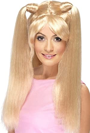 Womens Posh Spice Style Costume with Wig