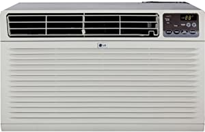 LG Energy Efficient 11,500 BTU (230V) Through-the-Wall Air Conditioner, 3 Cooling/Fan Speeds, On/Off Timer, All NEW Gold Fin Anti-Corrosion Coating, Full-Function Remote Control & Trim Kit Included