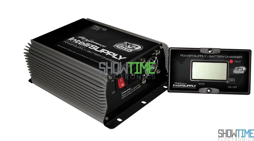 XS Power PSC15 Power Supply with AGM Charge Mode (15A, 12V, 14V, 16V) by XS Power