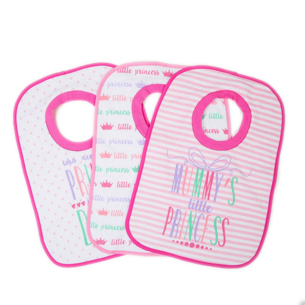 Pack of 3 pop-over Bibs MOTHER' S CHOICE