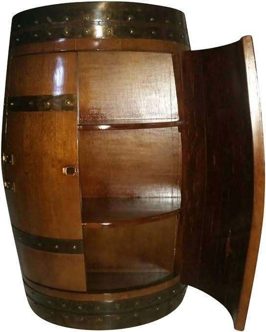 Amazon Com Original Wine Barrel Cabinet Kitchen Dining