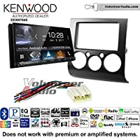 Volunteer Audio Kenwood DDX9704S Double Din Radio Install Kit with Apple Carplay Android Auto Fits 2004-2012 Mitsubishi Galant
