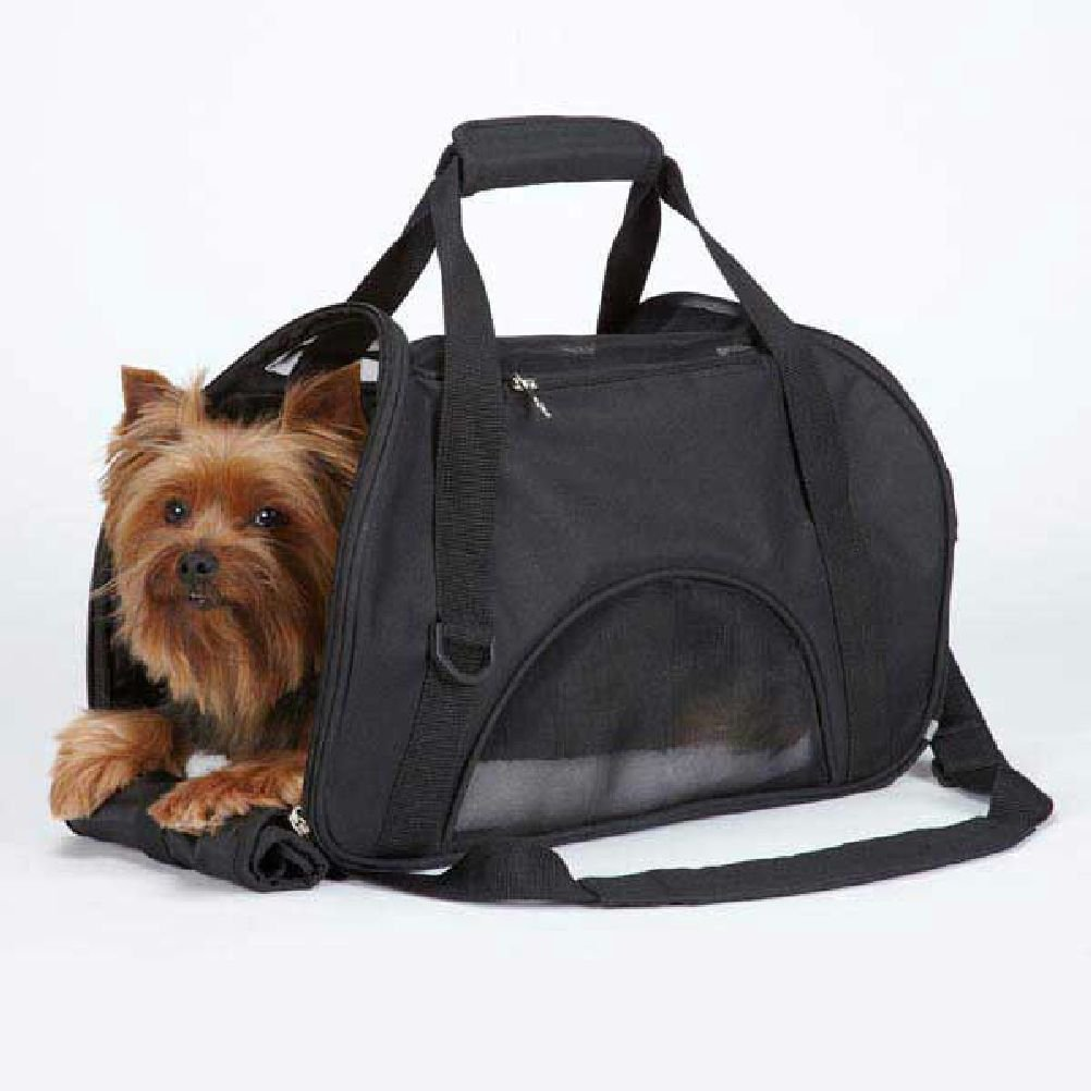 On The Go Dog Pet Carriers-Purse Style Designer Carrier Tote For Small Dogs