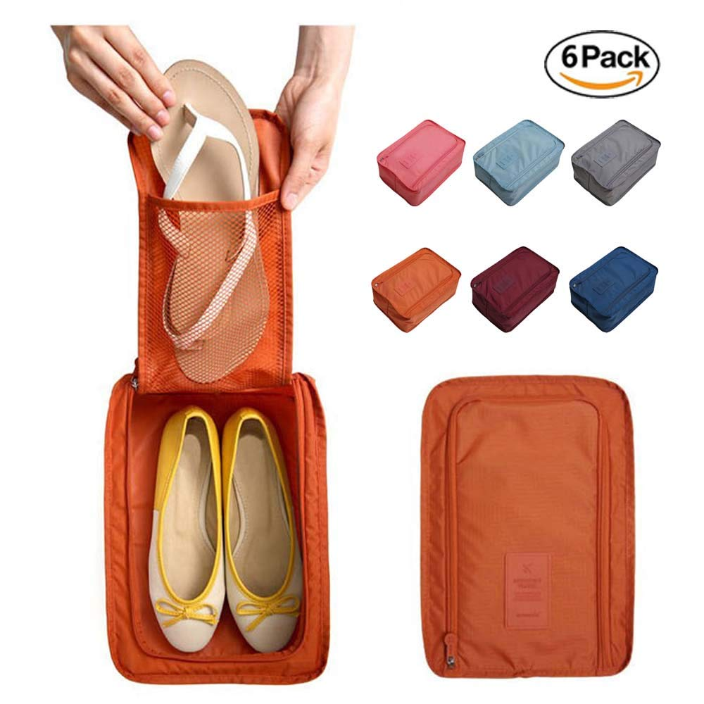 JASMIN SPRING Shoe Bags Travel Accessories Multi Color Storage Organizer Bag Boot Bags Travel Laundry Bag Luggage Laundry Bag for Men Women