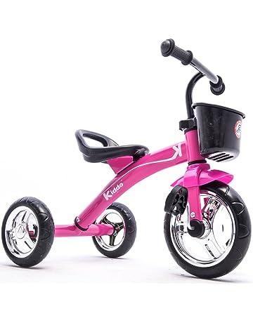 9f462472c6f Kiddo Pink 3 Wheeler Smart Design Kids Child Children Trike Tricycle  Ride-On Bike 2