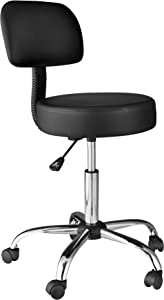 OneSpace Medical Stool, Black