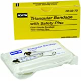 North by Honeywell 020370 Triangular Bandage, Sterile with 2 safety pins per unit
