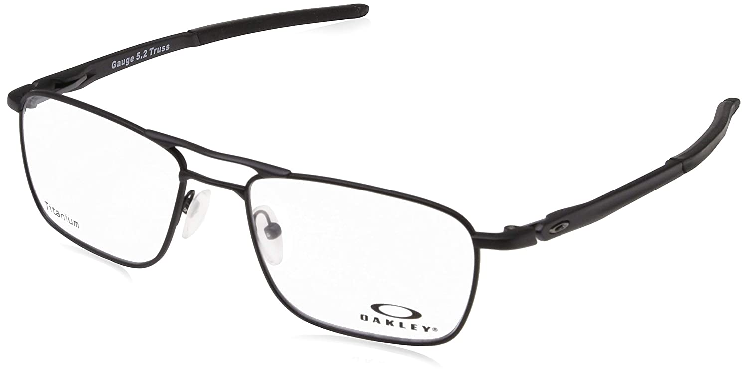 cc89d71881 OAKLEY Eyeglasses GAUGE 5.2 TRUSS (OX5127-01) Matte Black at Amazon Men s  Clothing store