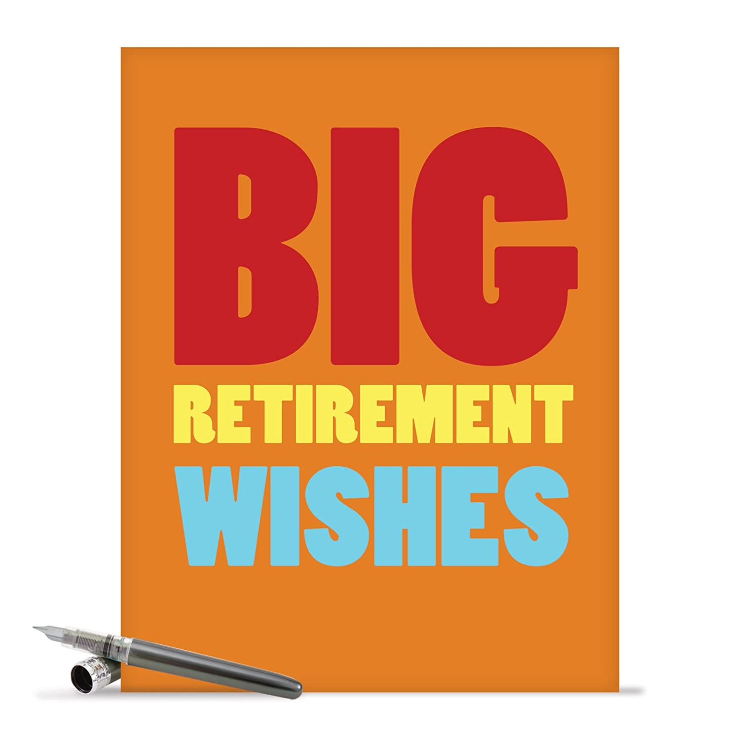 Amazon J2734rtg Jumbo Retirement Card Big Retirement Wishes