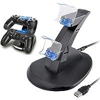 Carregador do controlador PS4, Carregador do controlador Playstation 4 / PS4 Slim / PS4 PRO / PS4, estação de…