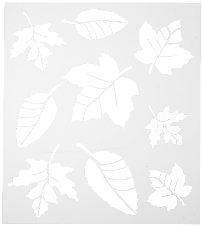 FolkArt Stencil Leaf Variety Sht