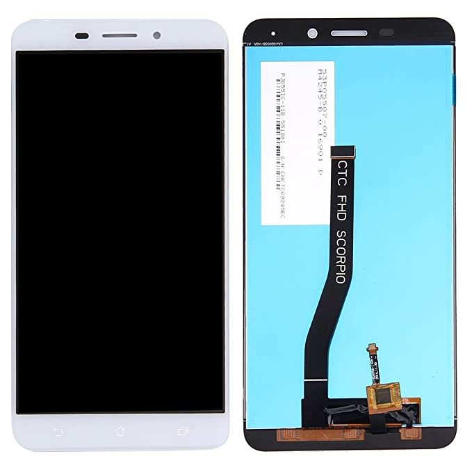 IPartsBuy For Asus ZenFone 3 Laser ZC551KL LCD Screen Touch Digitizer Assembly White
