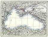 Historic Map | 1897 Black Sea |