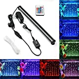 KAPATA Submersible Aquarium Light, Underwater LED Lighting with 24key Controller 16 Colors
