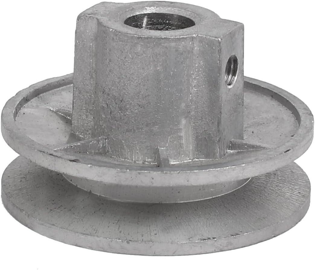 Aexit 54mm x 30mm Metal Lavadora Polea motriz (model: Z4173VIIO-6226AE) Rueda Tono plateado
